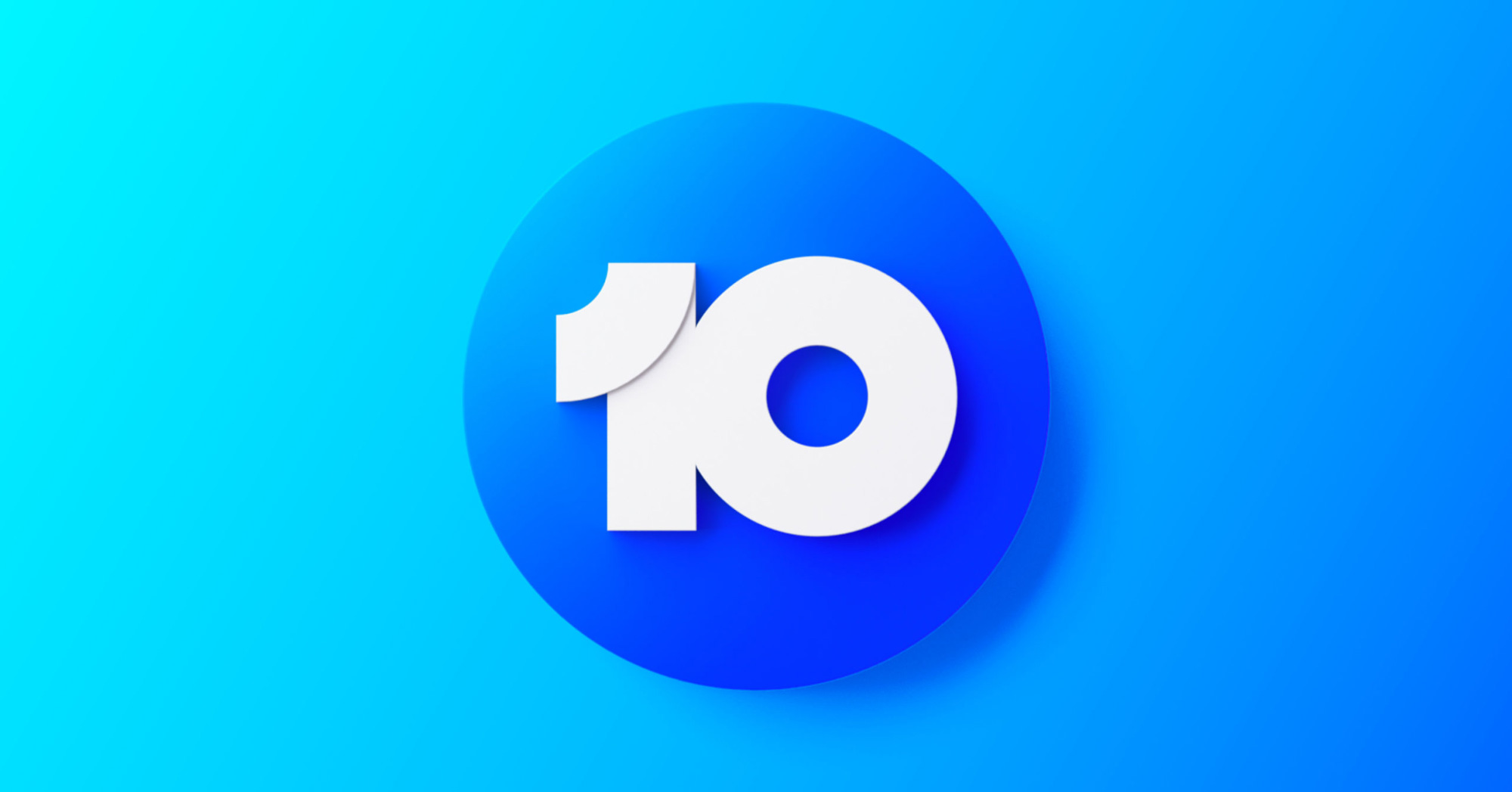 New Logo and On-air Look for Network 10 by Principals and In-house
