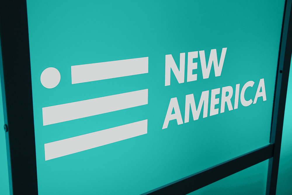 New Logo for New America by Simple.Honest.Work. and Mike McQuade