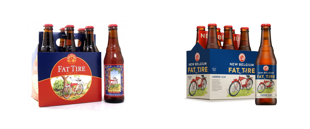 New Packaging for New Belgium by Hatch Design