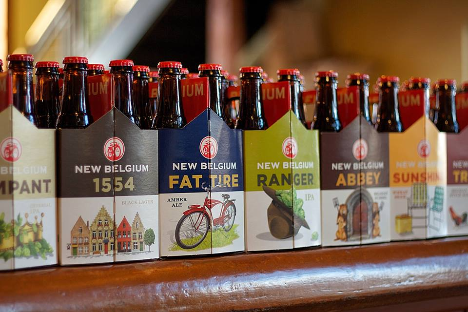 Brand New New Packaging For New Belgium By Hatch Design