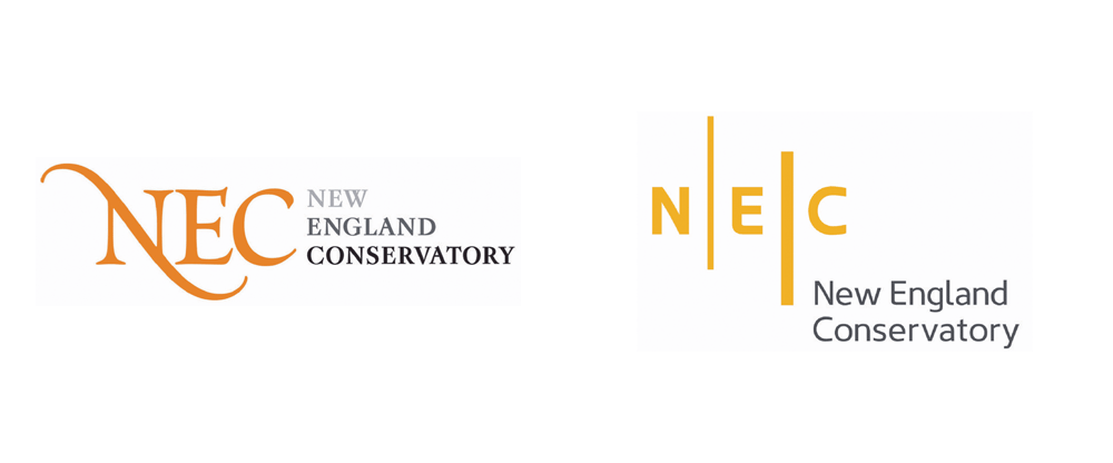 New Logo and Identity for New England Conservatory by Minelli