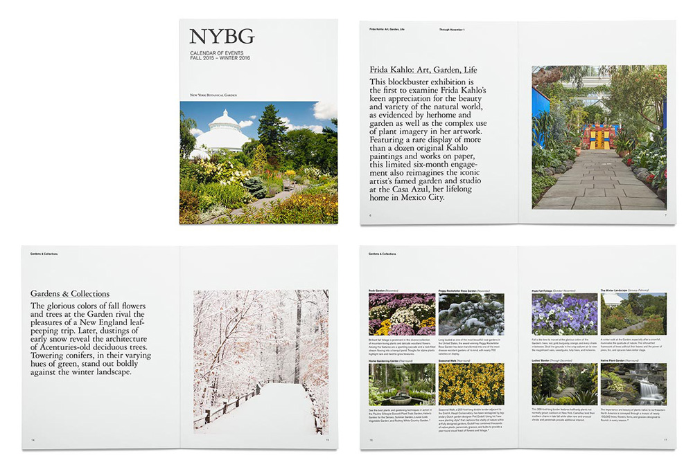 Brand New New Logo And Identity For New York Botanical Garden By