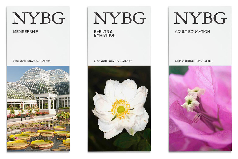 Brand New New Logo And Identity For New York Botanical