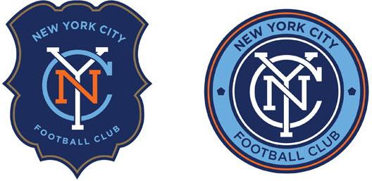 New Logo for New York City FC by Alfalfa Studio