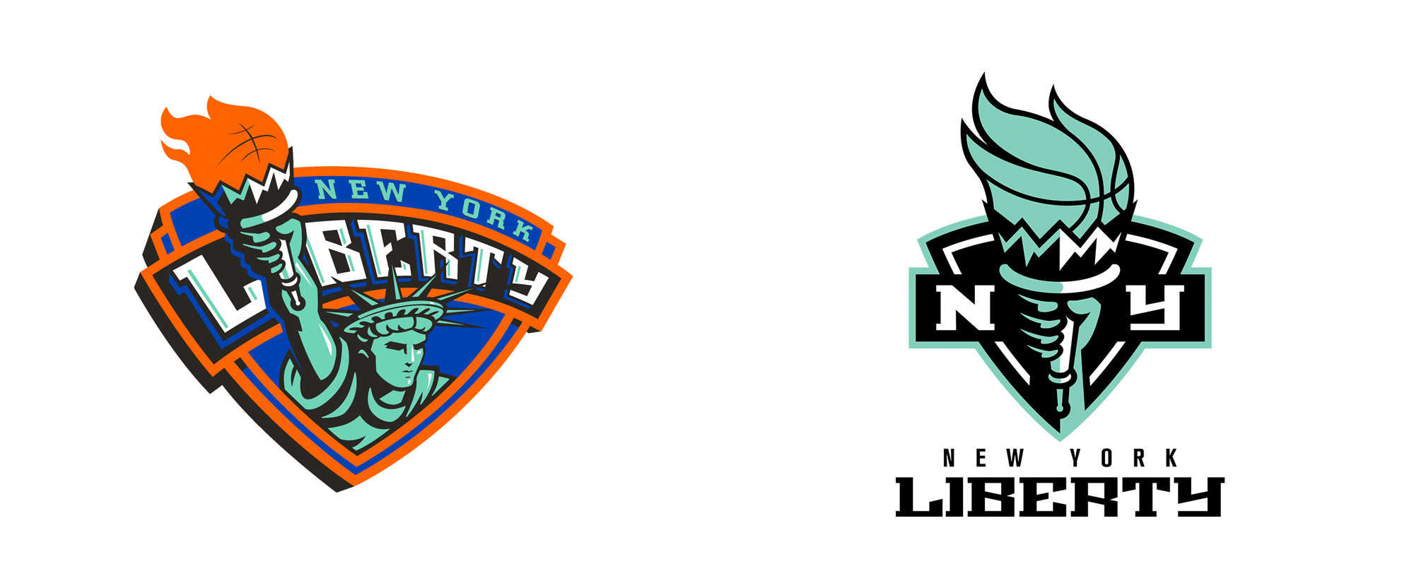 New Logo for New York Liberty