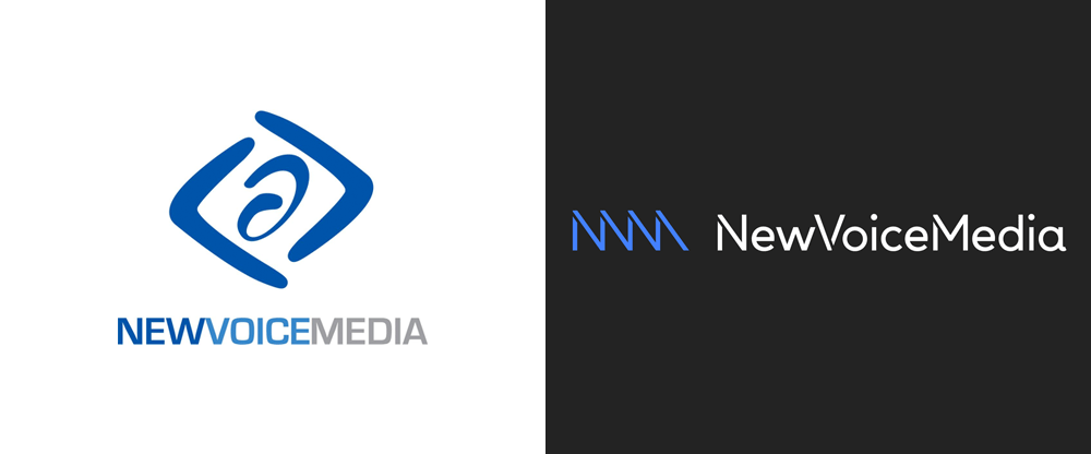 New Logo and Identity for NewVoiceMedia by Koto