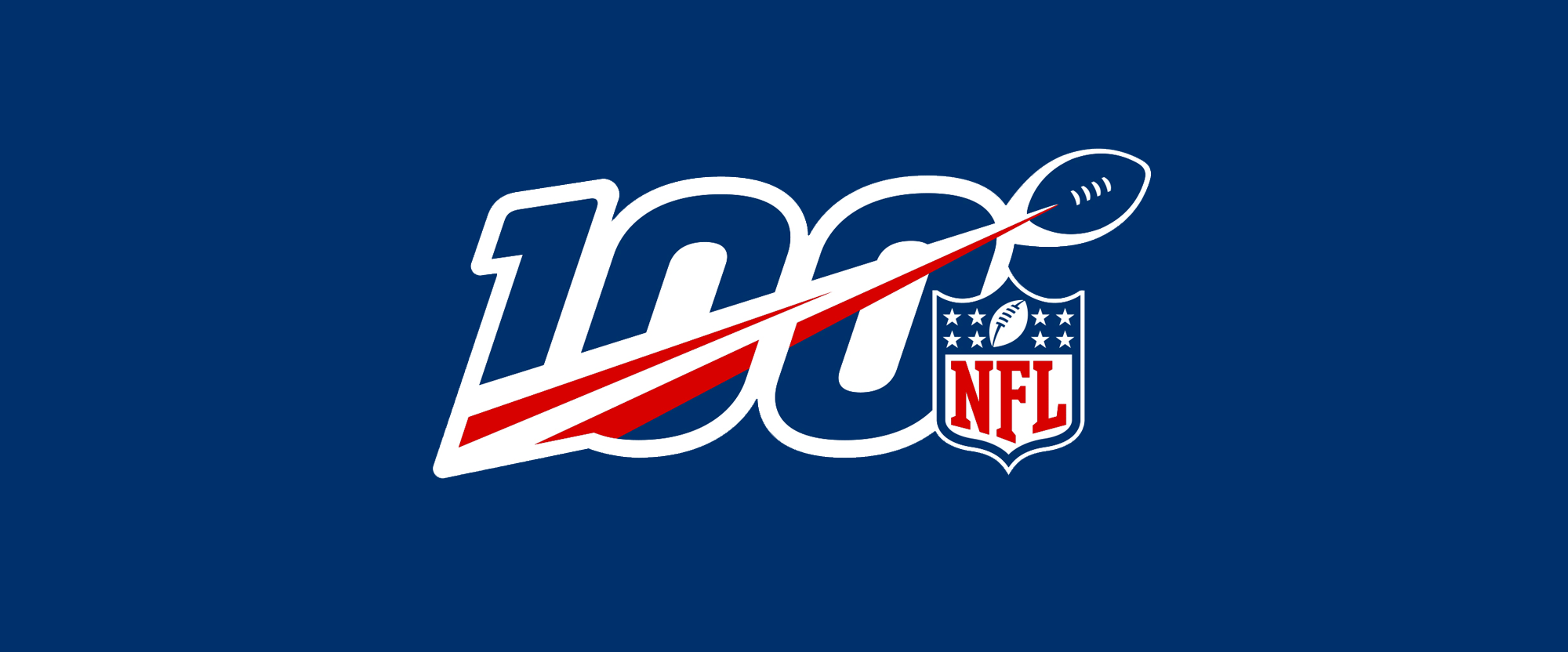 New Logo for NFL 100th Anniversary