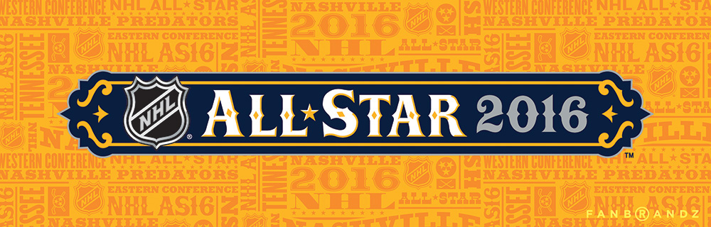 New Logo for 2016 NHL All-Star Game by Fanbrandz