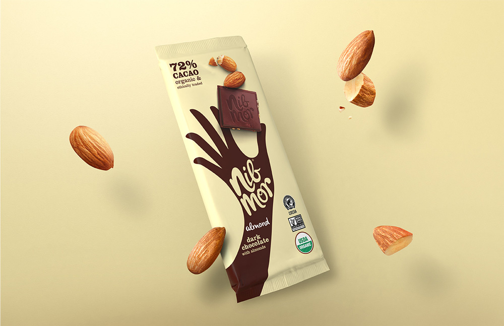 New Logo and Packaging for NibMor by Pearlfisher