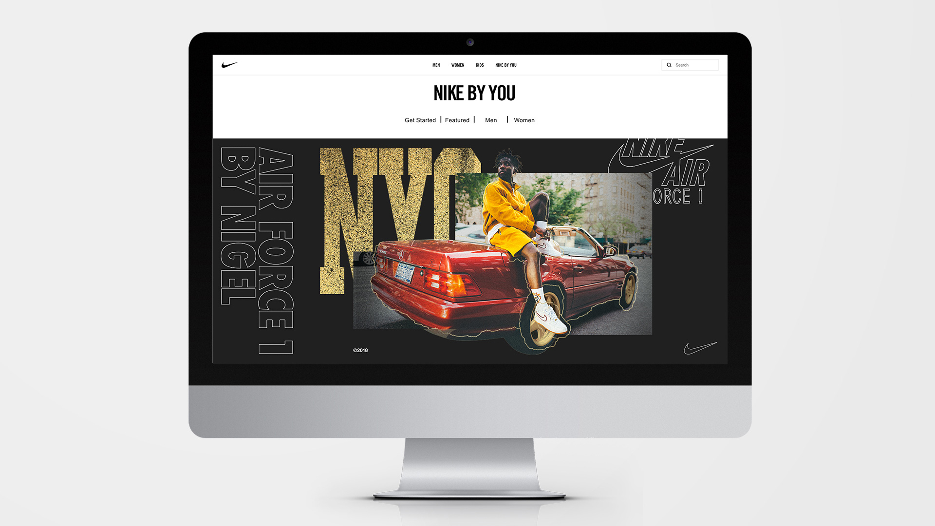 New Logo and Identity for Nike by You by Gretel