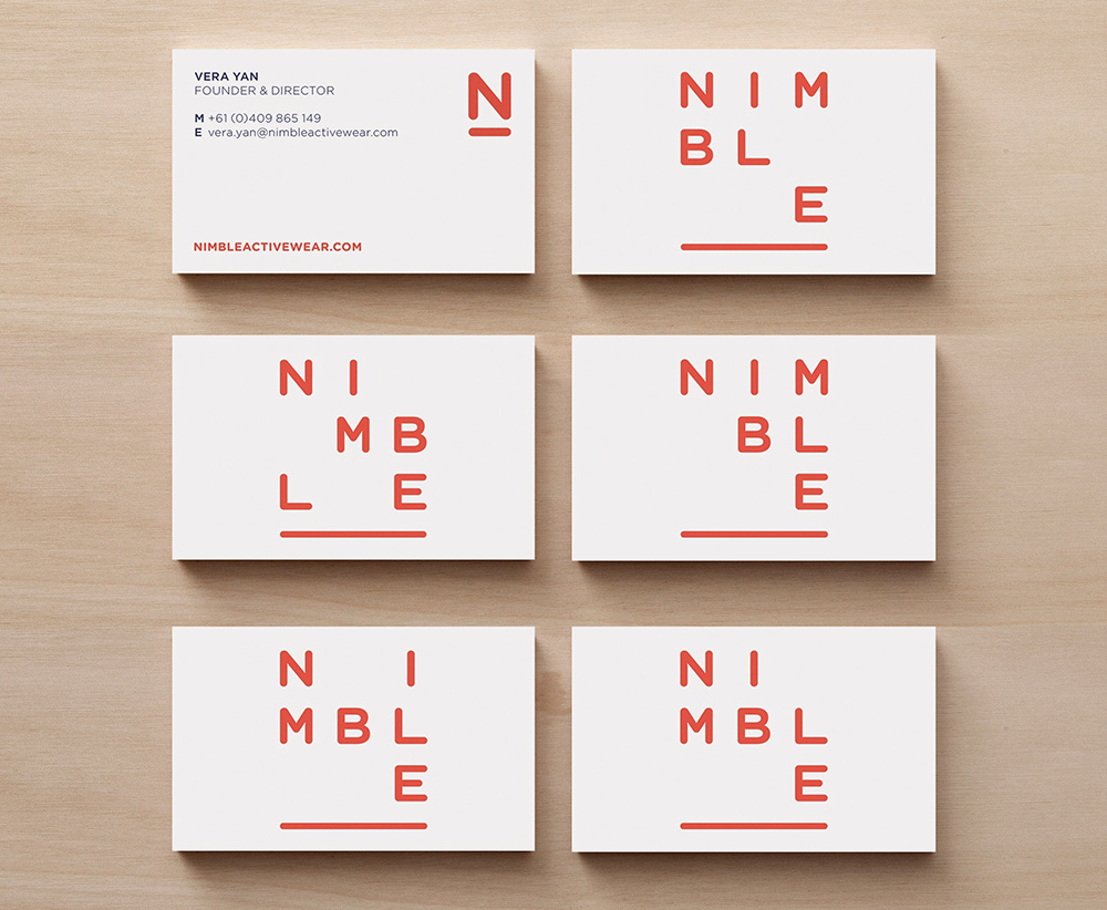 New Logo and Identity for Nimble by Christopher Doyle & Co.