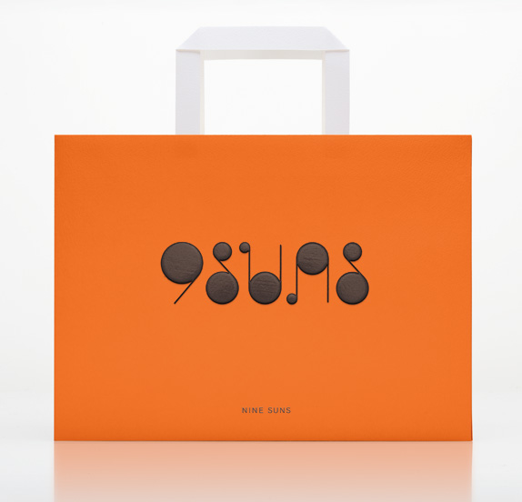 Nine Suns Logo and Packaging