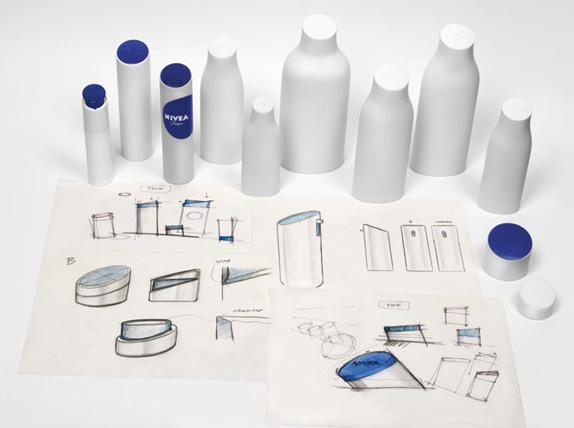 Nivea Logo and Packaging