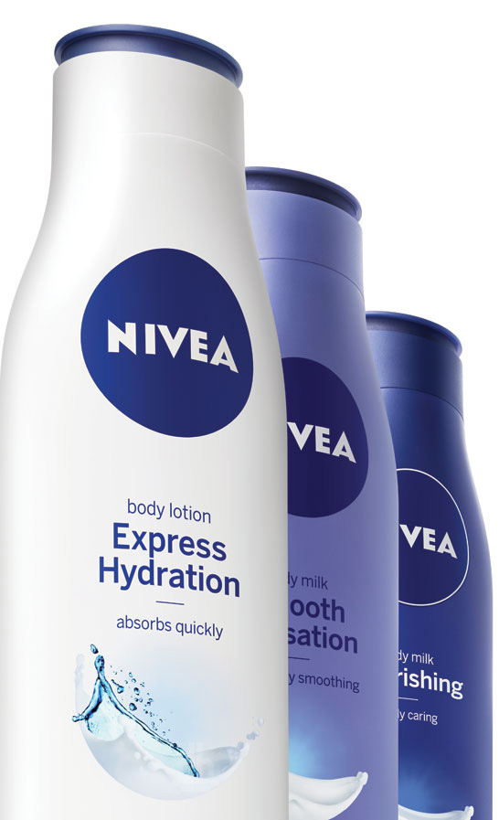 Brand New: Nivea Gets Rid of its Own Wrinkles