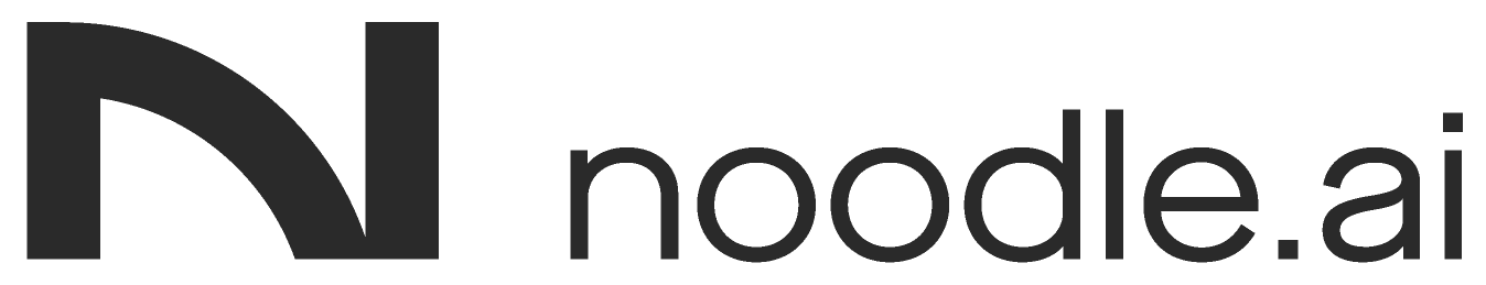 New Logo and Identity for Noodle.ai by Ueno