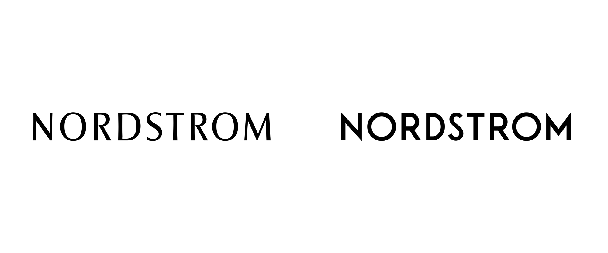 Brand New: New Logo for Nordstrom