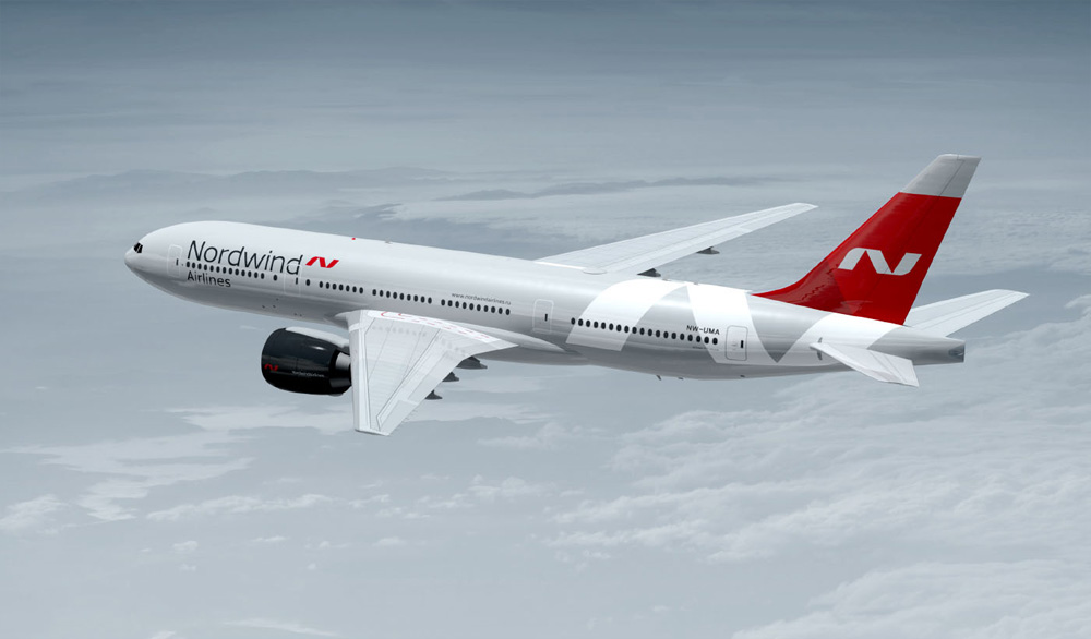 Brand New New Logo And Livery For Nordwind Airlines By Uma
