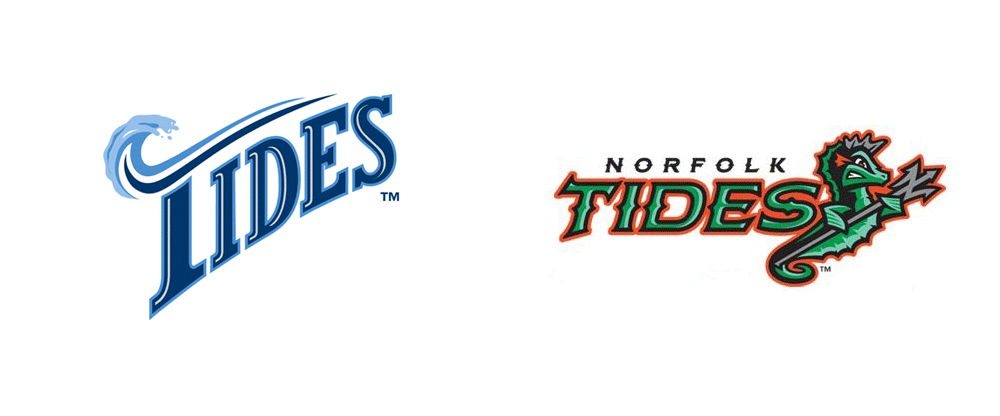 New Logos for Norfolk Tides by Brandiose