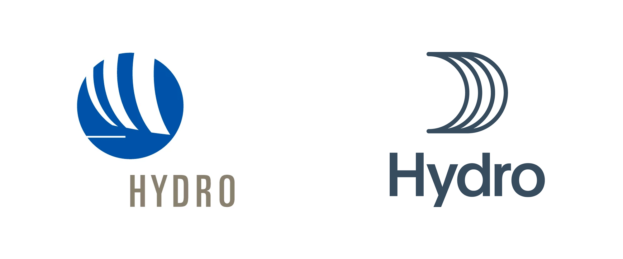 New Logo and Identity for Hydro by Snøhetta