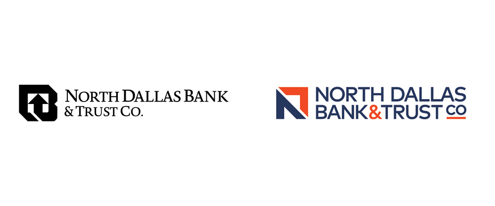 New Logo for North Dallas Bank & Trust Co. by PAVLOV