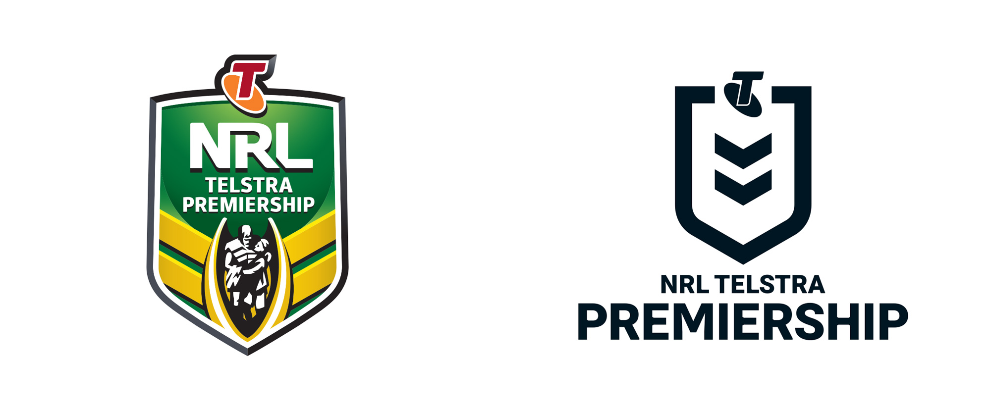New Logo and Identity for NRL Telstra Premiership by WK Studio