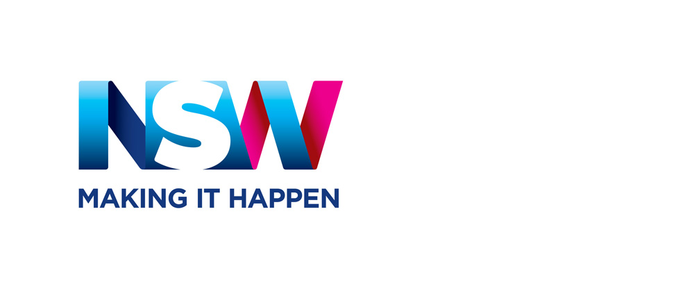 New Logo for NSW MAKING IT HAPPEN