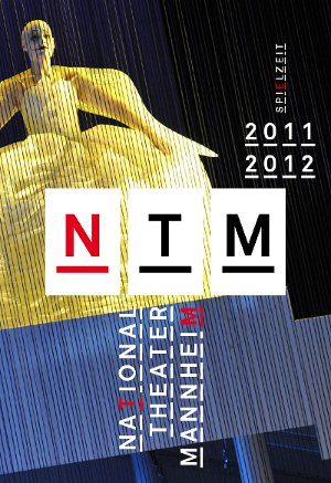 Nationaltheater Mannheim Logo, Before and After