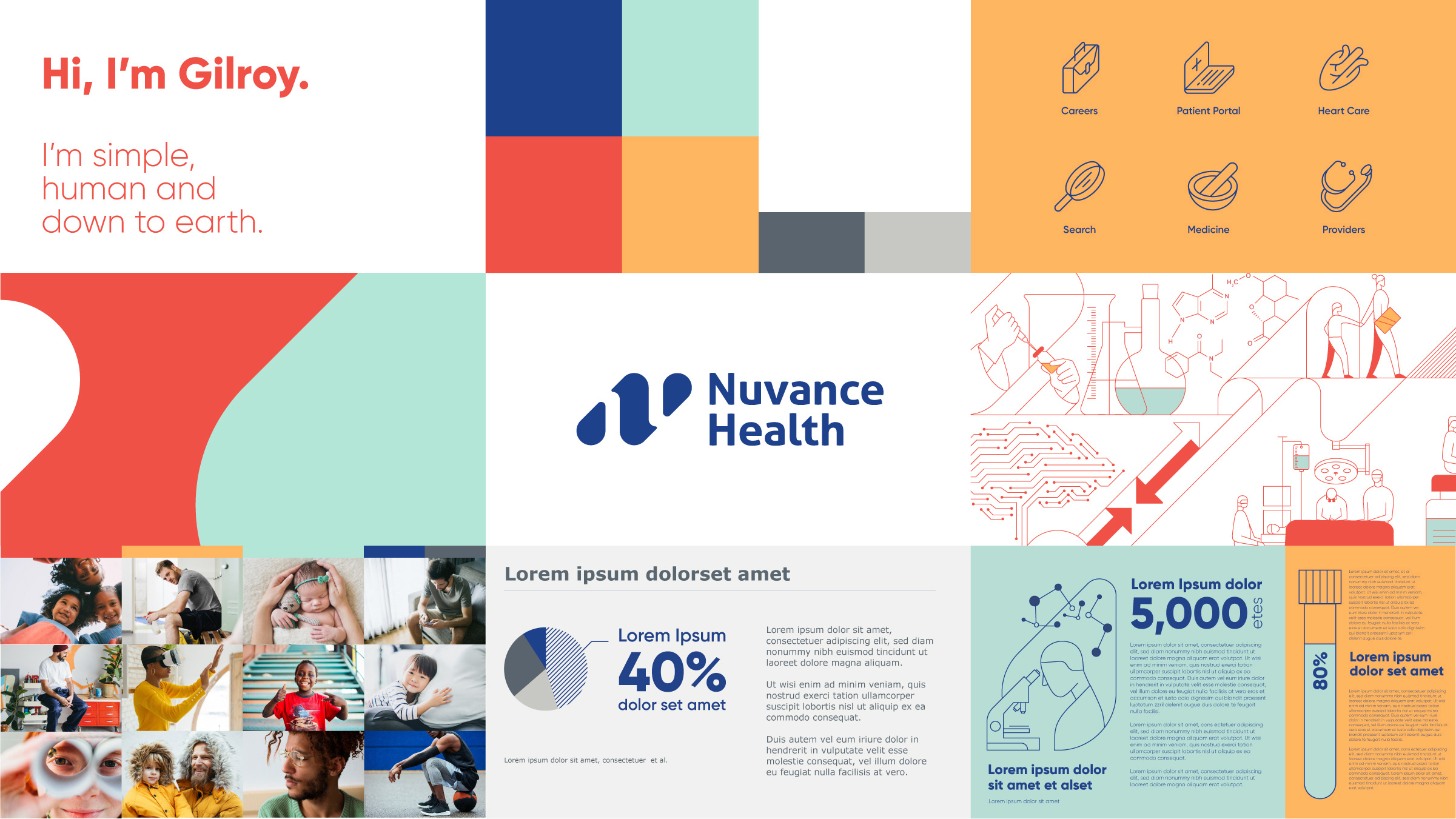 New Logo and Identity for Nuvance Health by Monigle