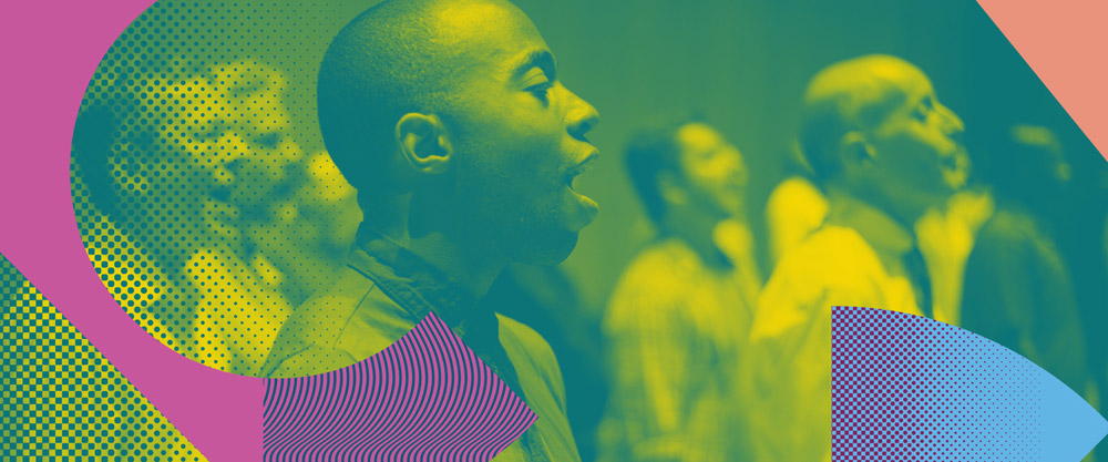New Logo and Identity for New York City Gay Men's Chorus by Hieronymus
