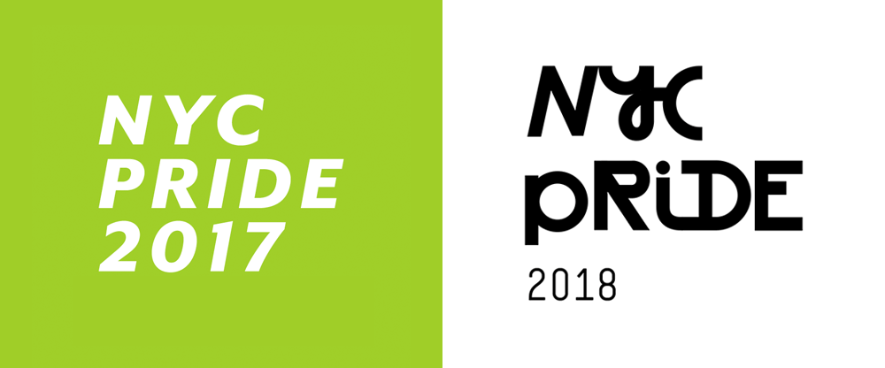 New Logo and Identity for 2018 NYC Pride by Grey