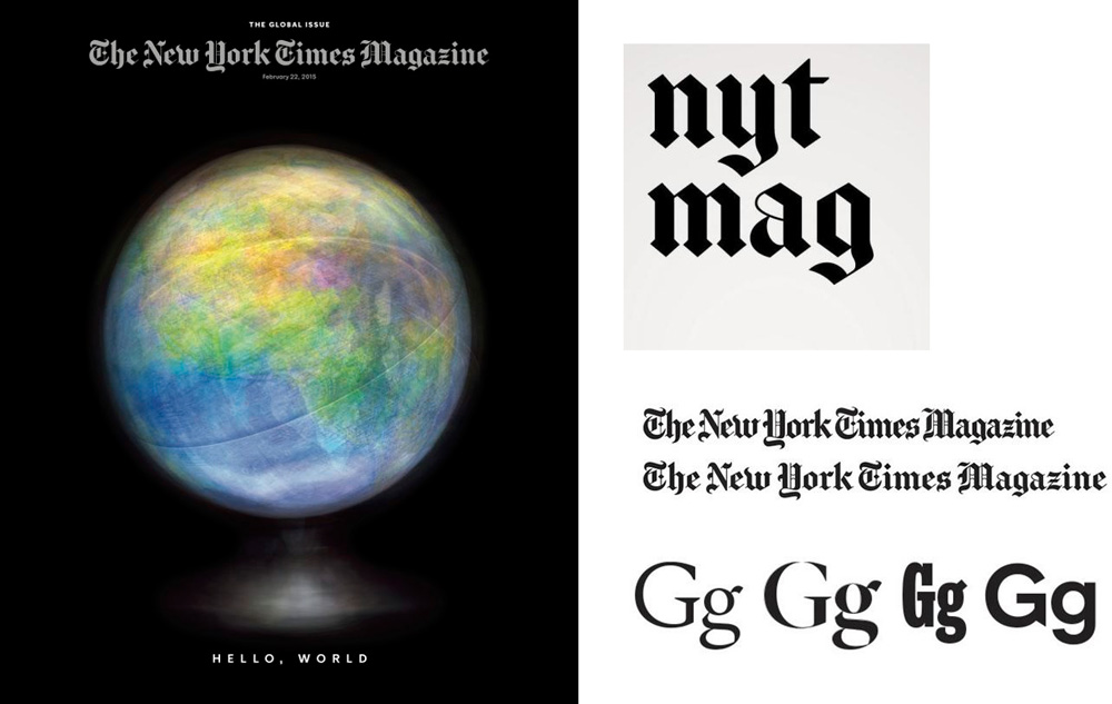 NYT Mag Redesign