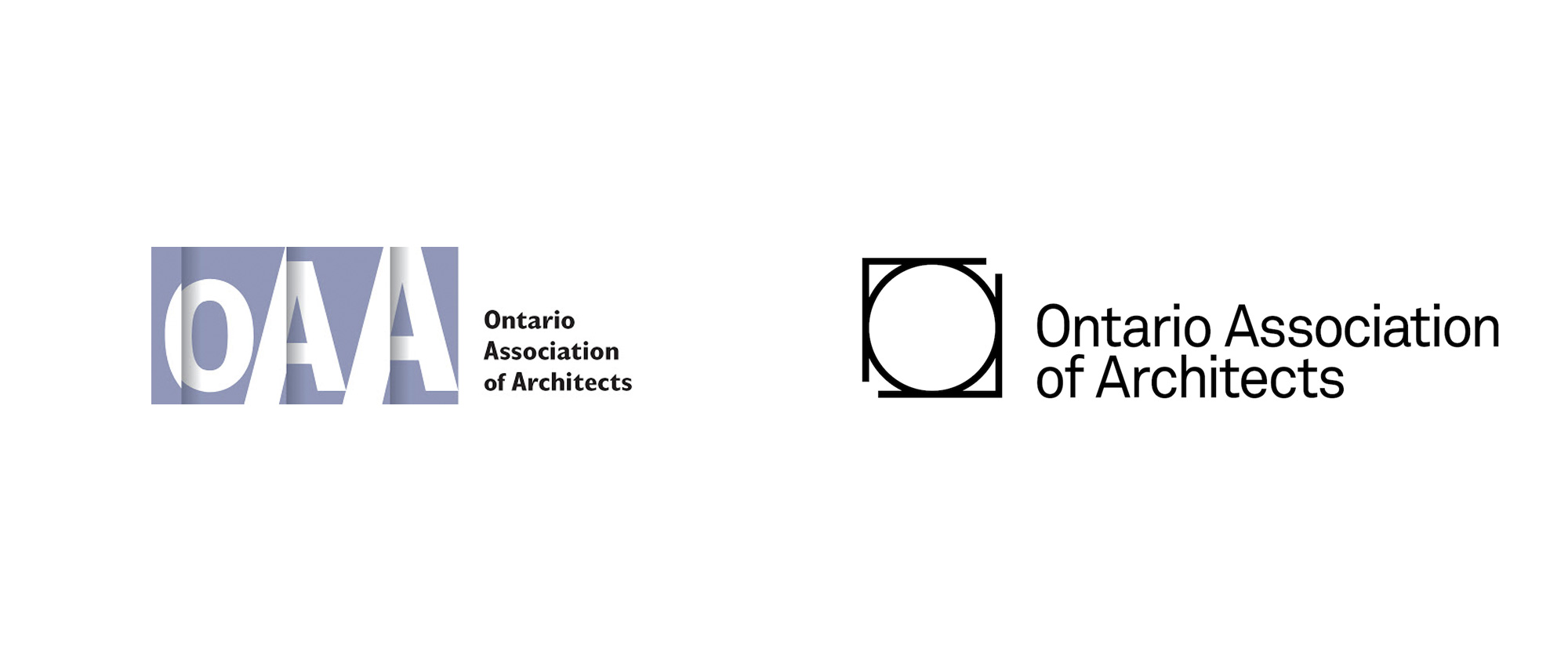 New Logo for Ontario Association of Architects by Leo Burnett Canada