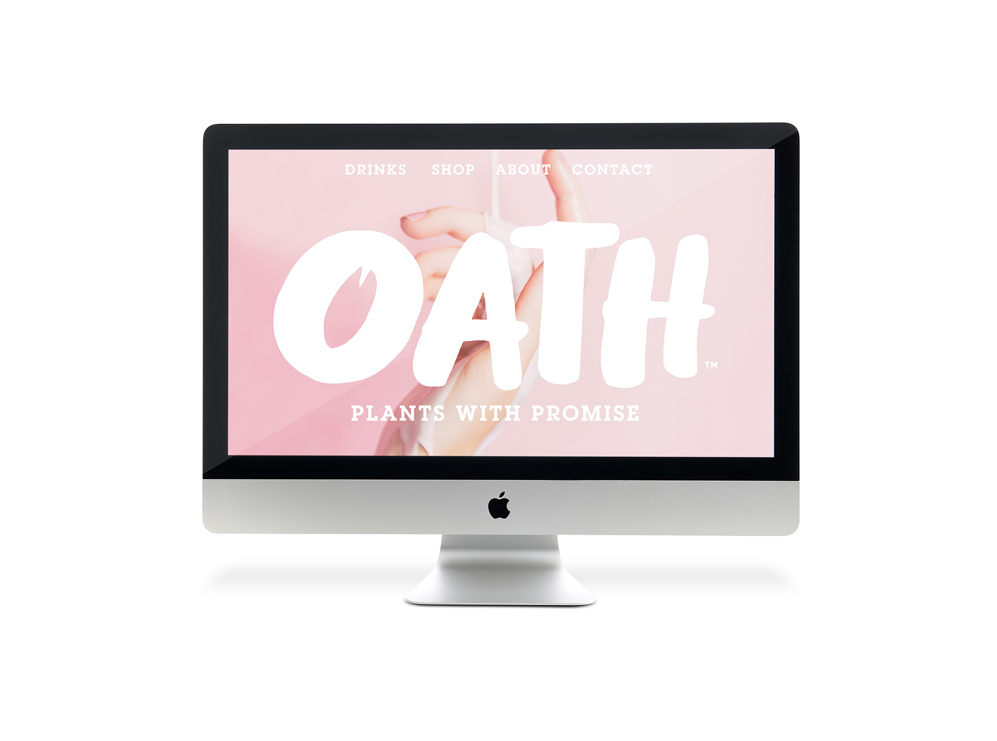 New Logo and Packaging for OATH by B&B Studio
