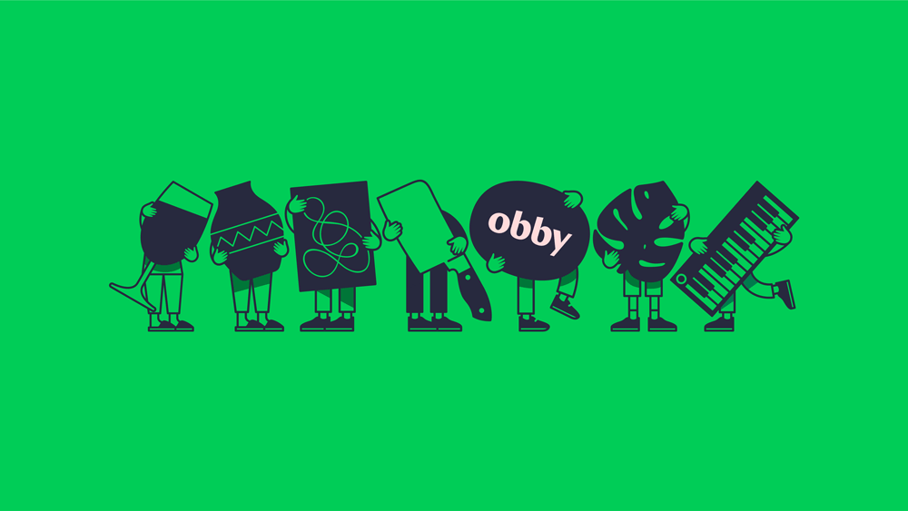 New Logo and Identity for Obby by Koto