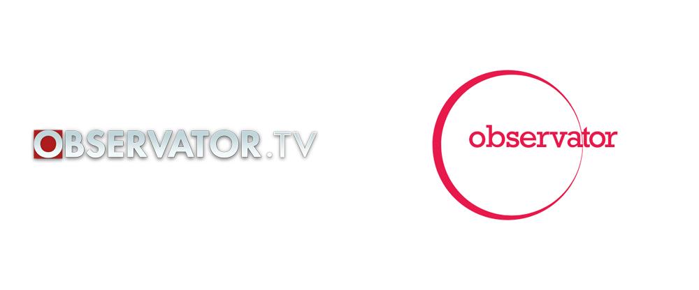 New Logo and Identity for Observator (TV) done In-house