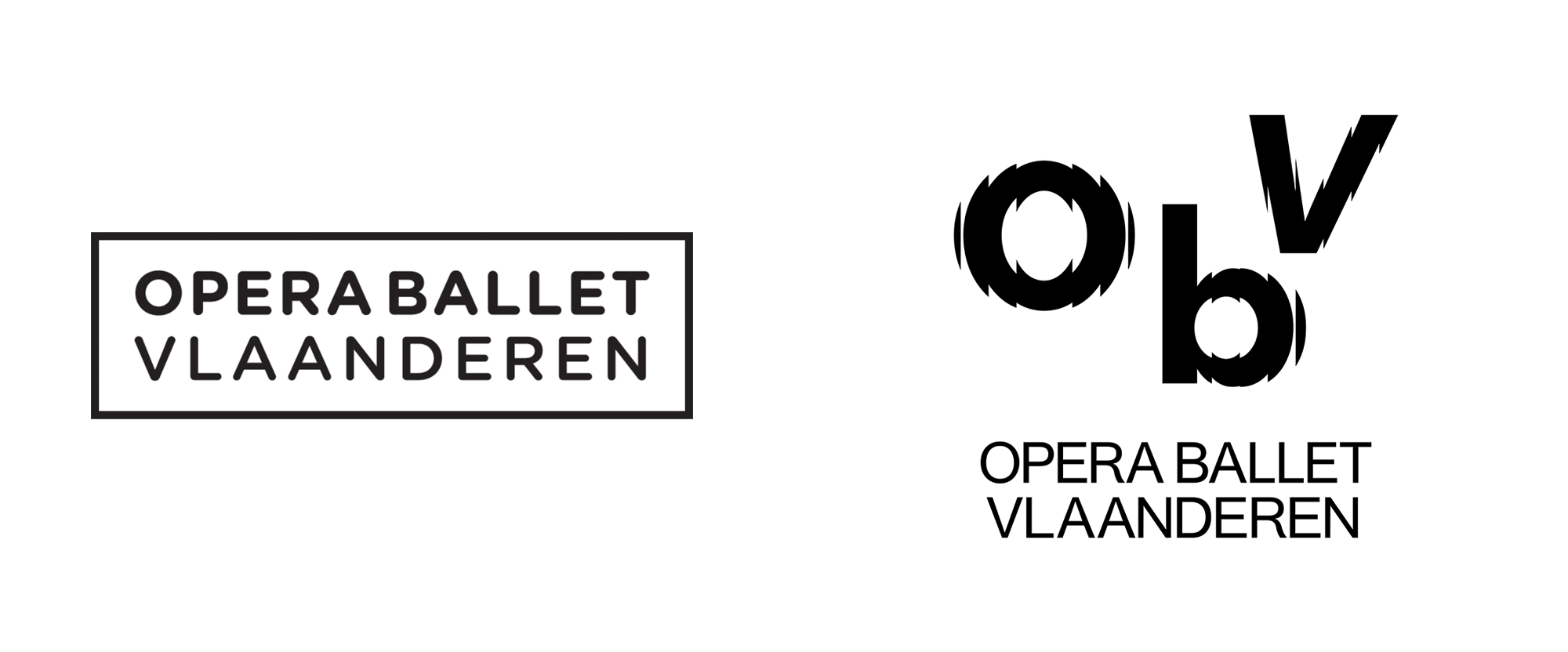 New Logo and Identity for Opera Ballet Vlaanderen by Pentagram