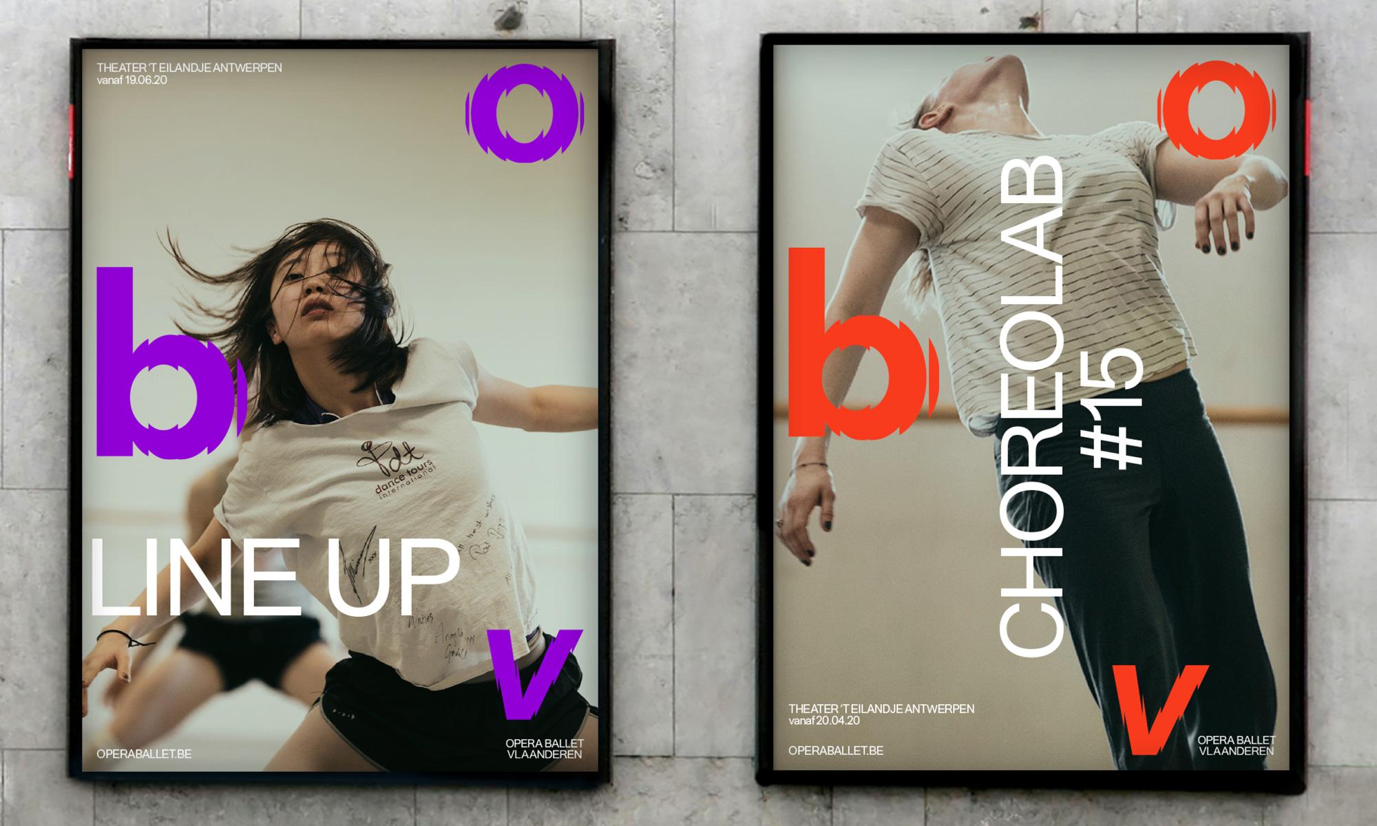 New Logo and Identity for Opera Ballet Vlaanderen by Pentagram