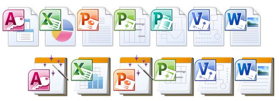 Microsoft Office Mac 2011 Icons