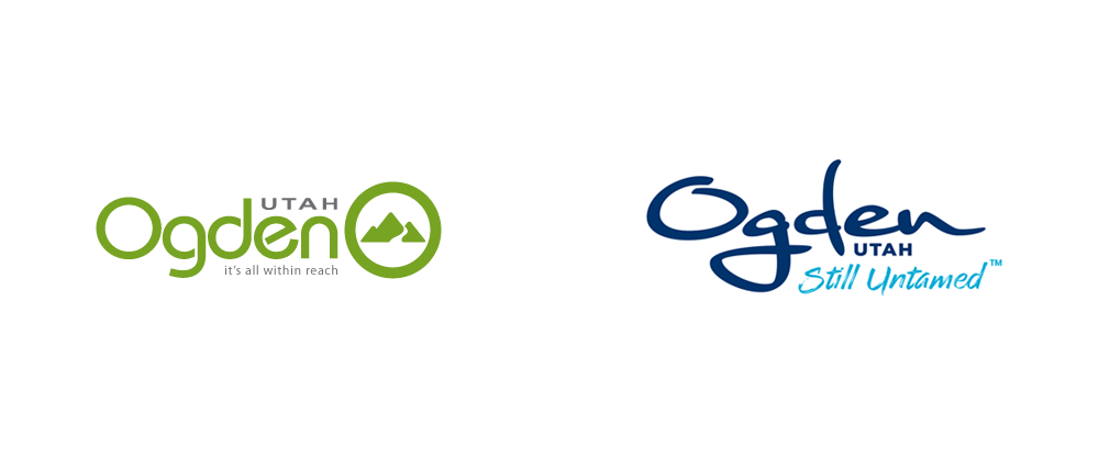 New Logo and Identity for Ogden City by Roger Brooks International