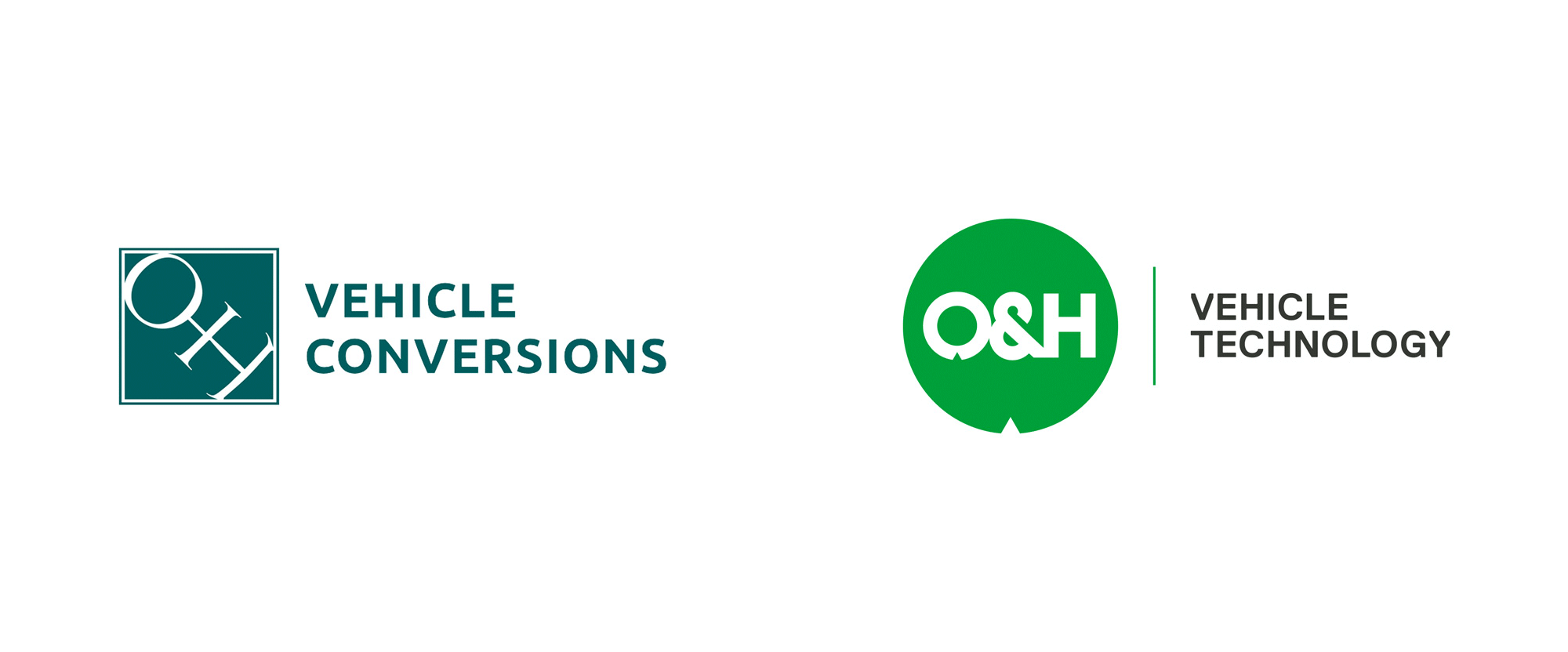 New Logo and Identity for O&H Vehicle Technology by Aye!