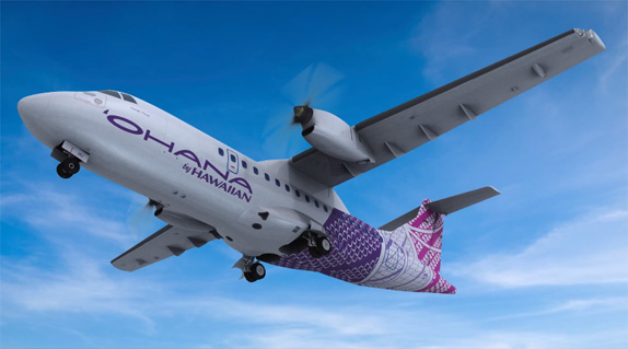 Ohana by Hawaiian Logo and Livery