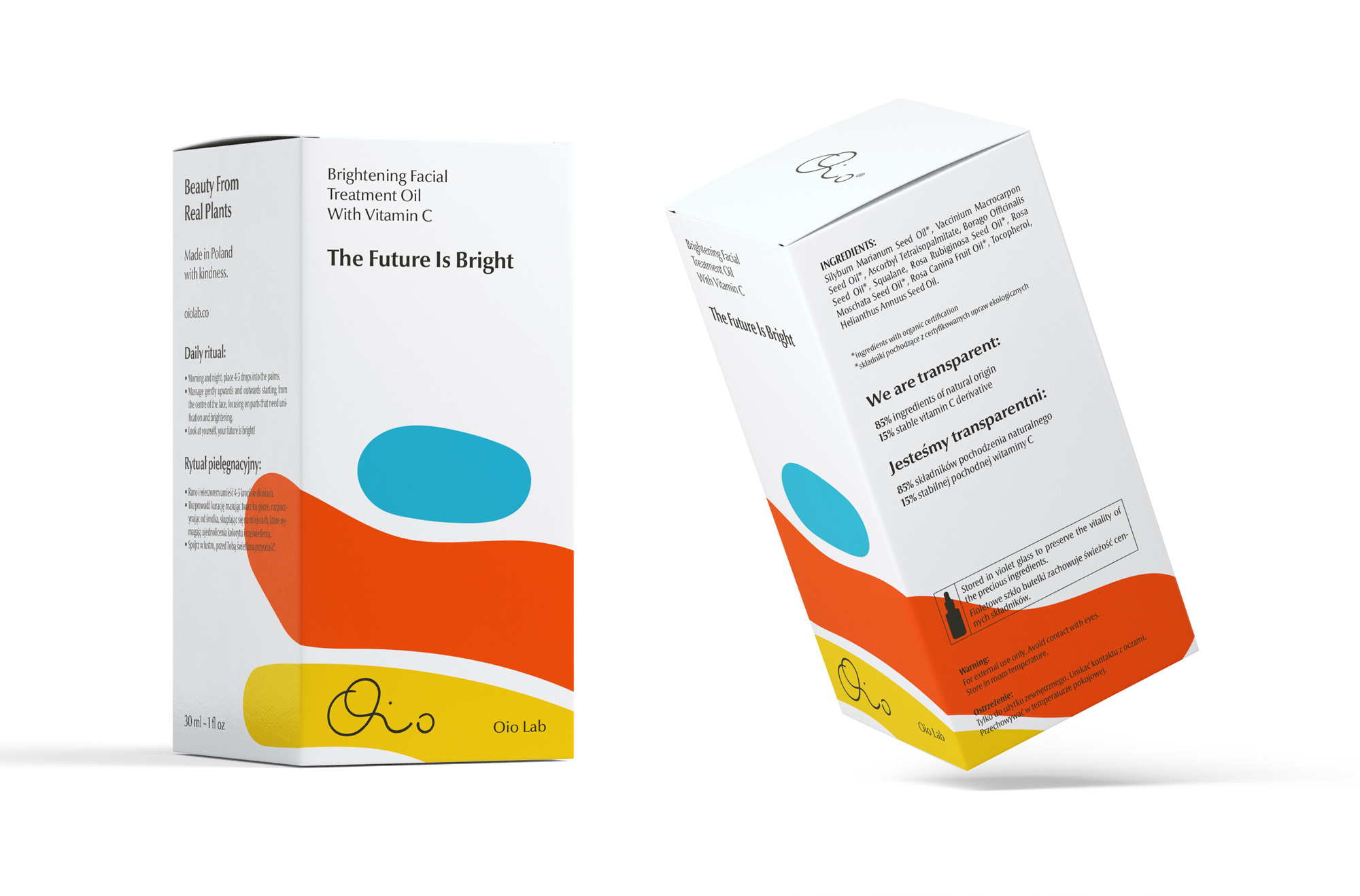 New Logo and Packaging for Oio Lab by Hugmun