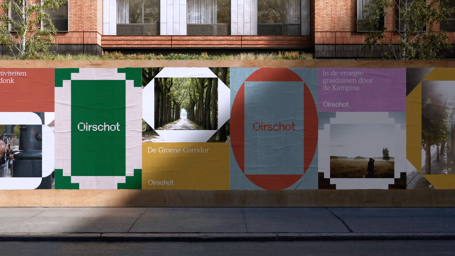 New Logo and Identity for Oirschot by George&Harrison