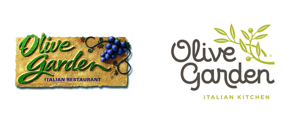 New Logo for Olive Garden