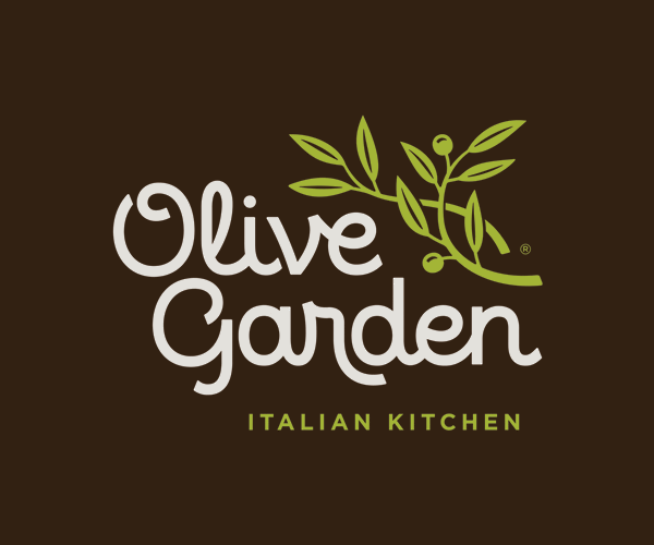 Brand New New Logo For Olive Garden
