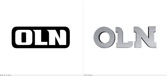 OLN Logo, Before and After
