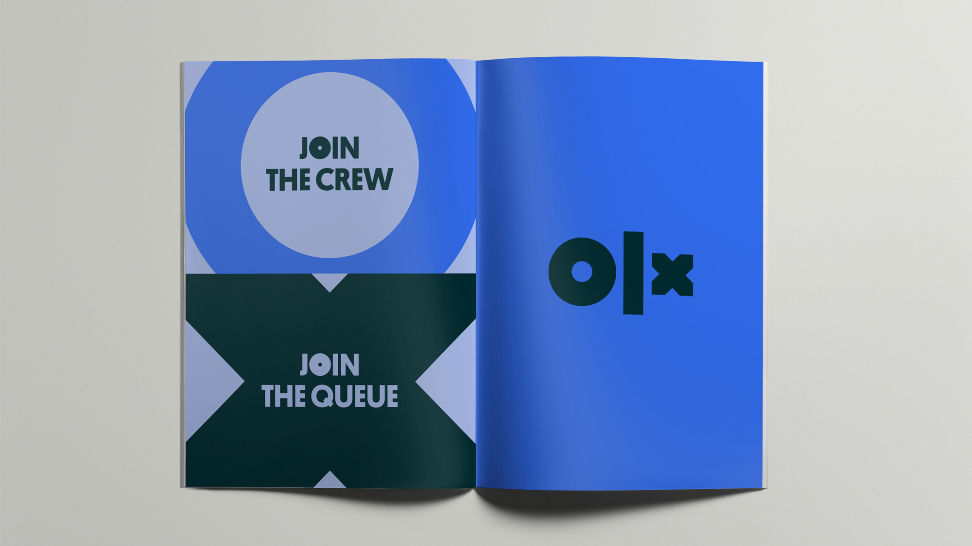 New Logo and Identity for OLX by DesignStudio
