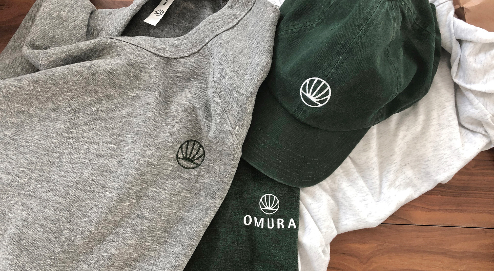 New Logo and Packaging for Omura by Safari Sundays