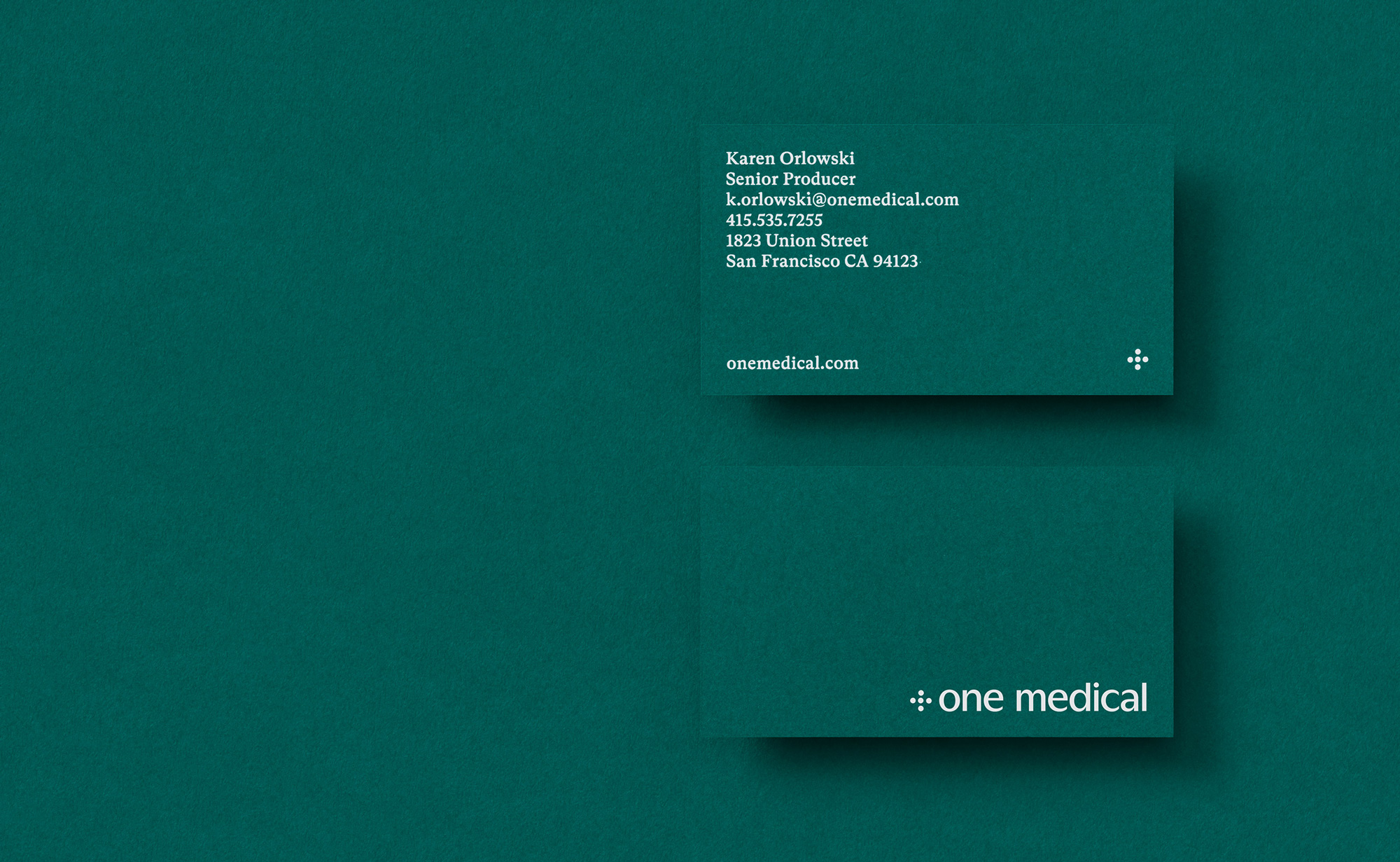 New Logo and Identity for One Medical by Moniker and In-house