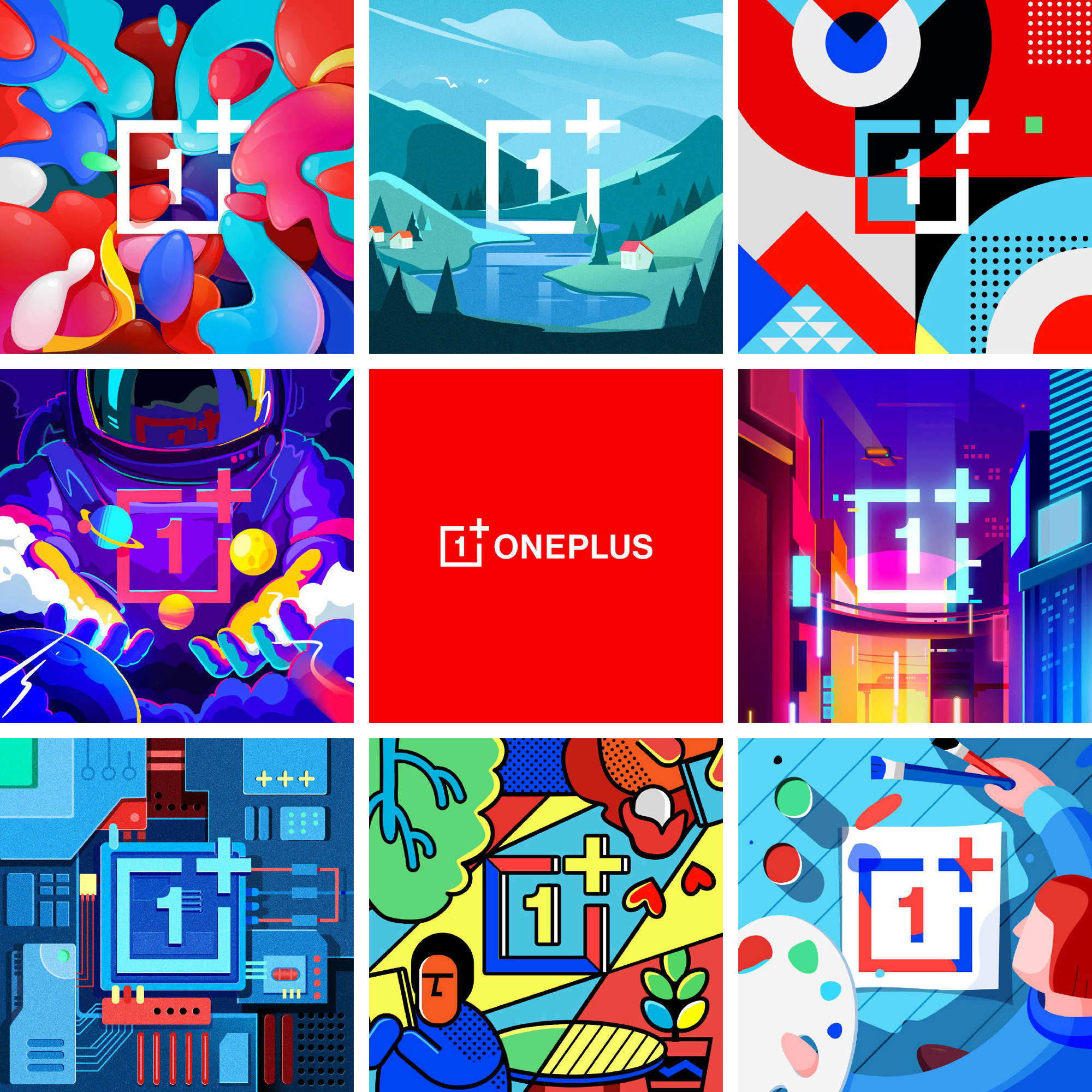 New Logo and Identity for OnePlus done In-house with Interbrand